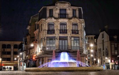 Reims fountain