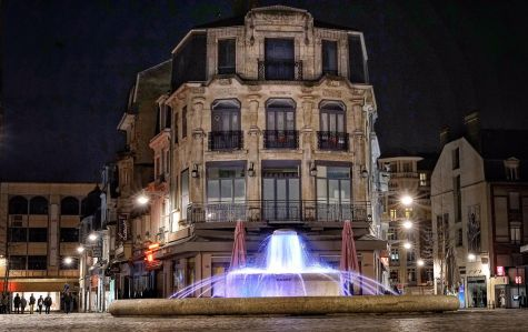 Reims fountain